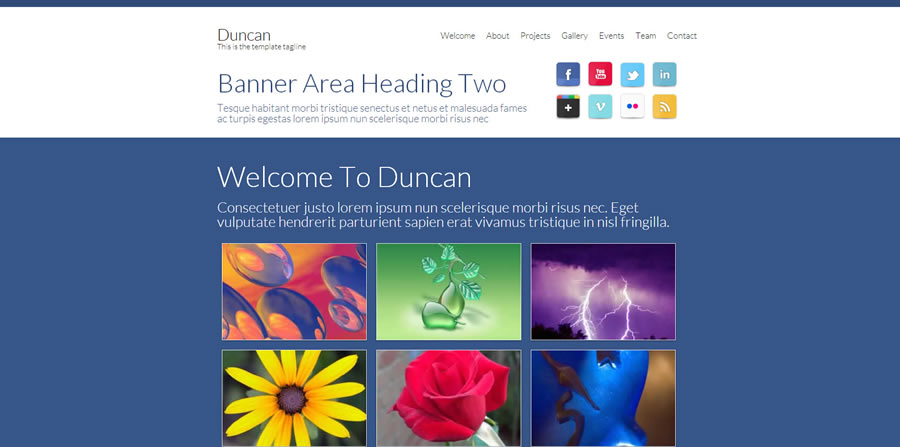 Quality and Easy To Use Web Templates that work great with Dreamweaver
