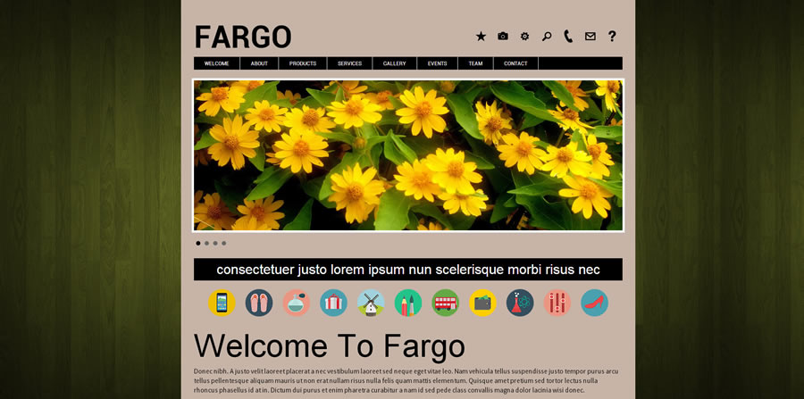 Website Template - Fargo